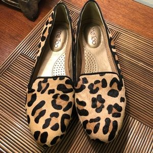 "Me Too ""Kallie"" Leopard Shoe - 7 1/2M"